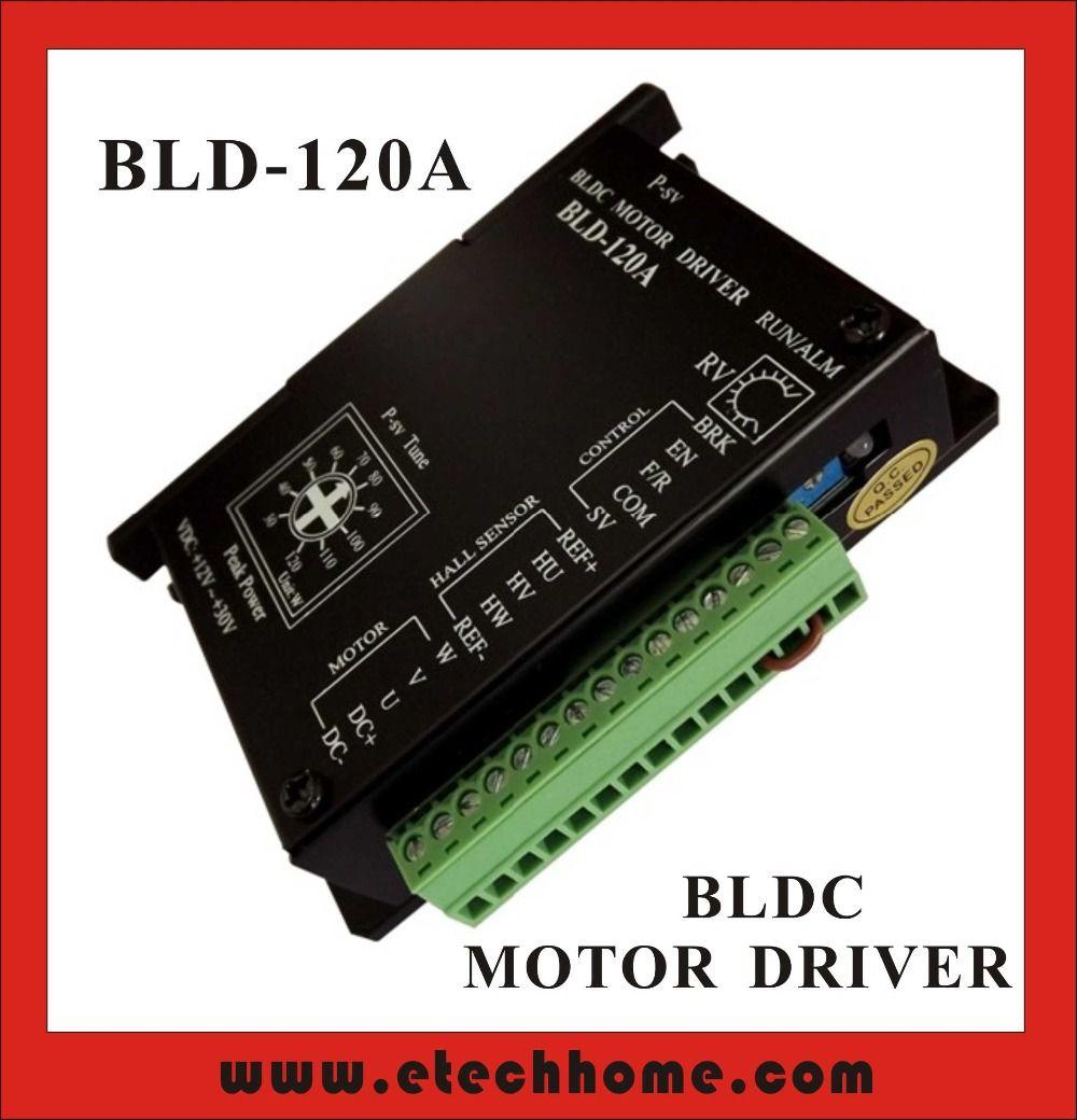 BLDC Motor Driver Controller 120W 12V-30V DC Brushless DC