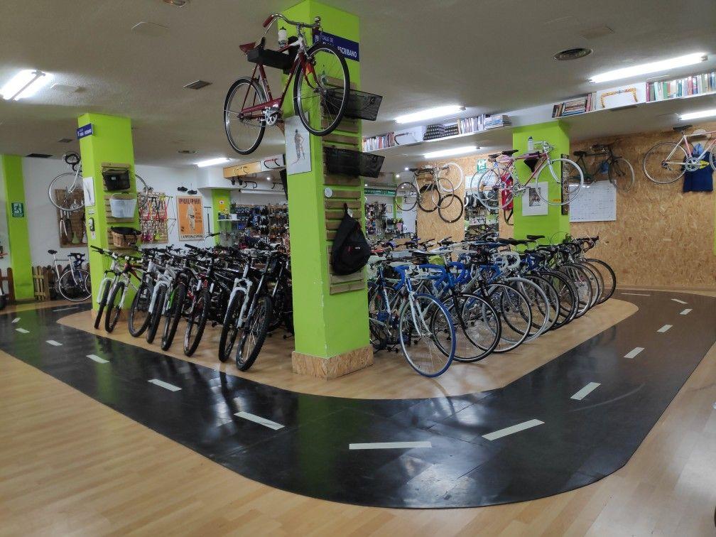 La Mayor Tienda De Bicicletas De Segunda Mano En Madrid Tiendas