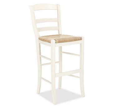 Isabella Barstool Counter Height Antique White
