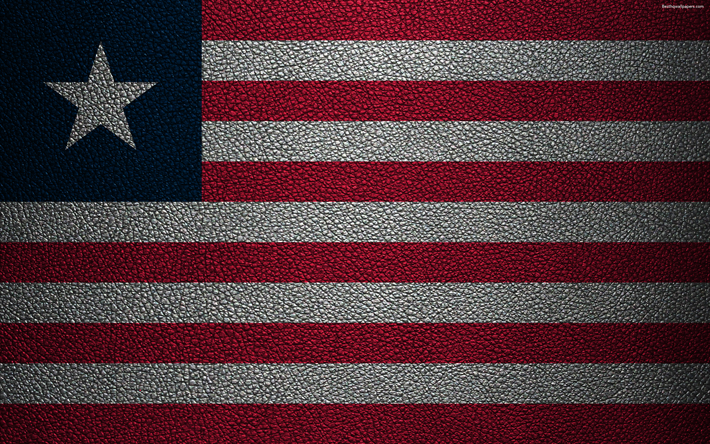 Download Wallpapers Flag Of Liberia 4k Leather Texture Africa Liberian Flag African Flags Liberia Besthqwallpapers Com Liberia Flag Liberian Flag African Flag