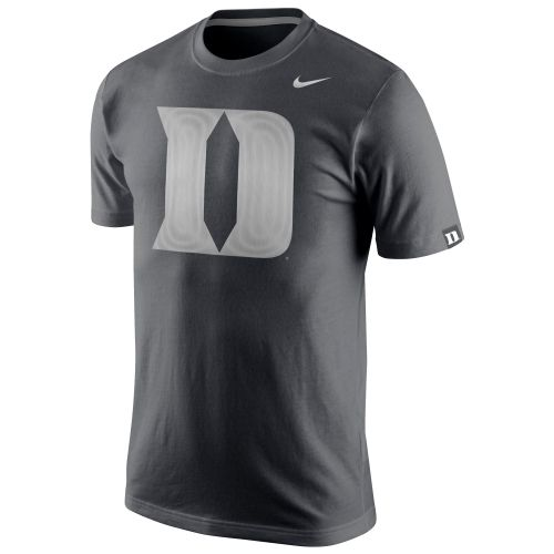 99bebdf7b85 Nike Duke Blue Devils Anthracite Platinum Tri-Blend T-Shirt