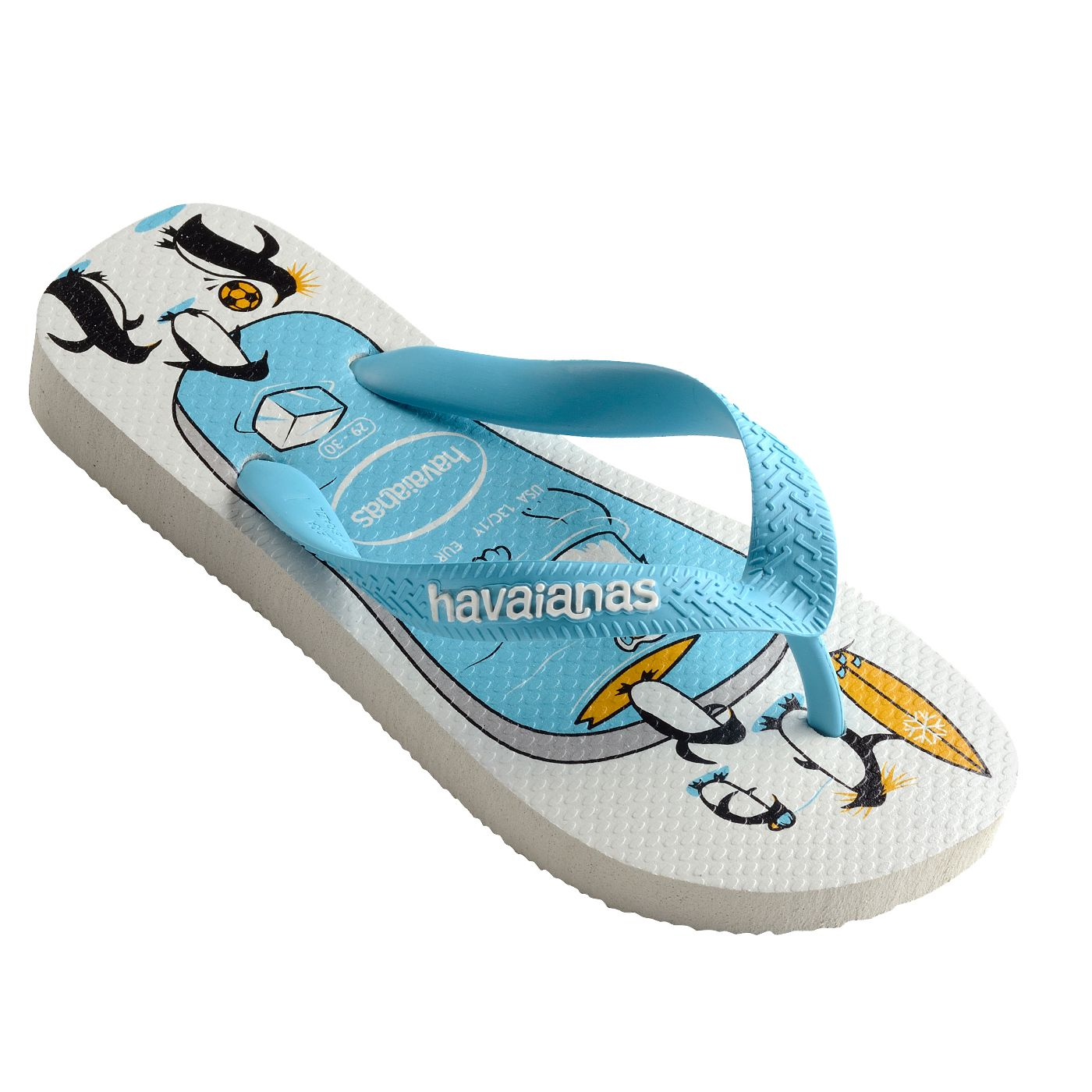 f057e52c6590a6 Havaianas Kids Top Play Ice Blue Thongs. Sink your teeth into this cool new  Havaianas