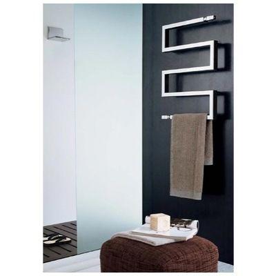 Scirocco Scirocco Snake 50 9010 Hydronic Towel Warmer Scirocco Snake 50 9010 Modern Towel Bars Modern Towels Towel Holder Bathroom