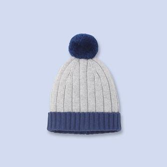 Bonnet en laine mélangée GRIS BLEU Garçon - Vêtement Bébé - Jacadi Paris b7009ee9a5d