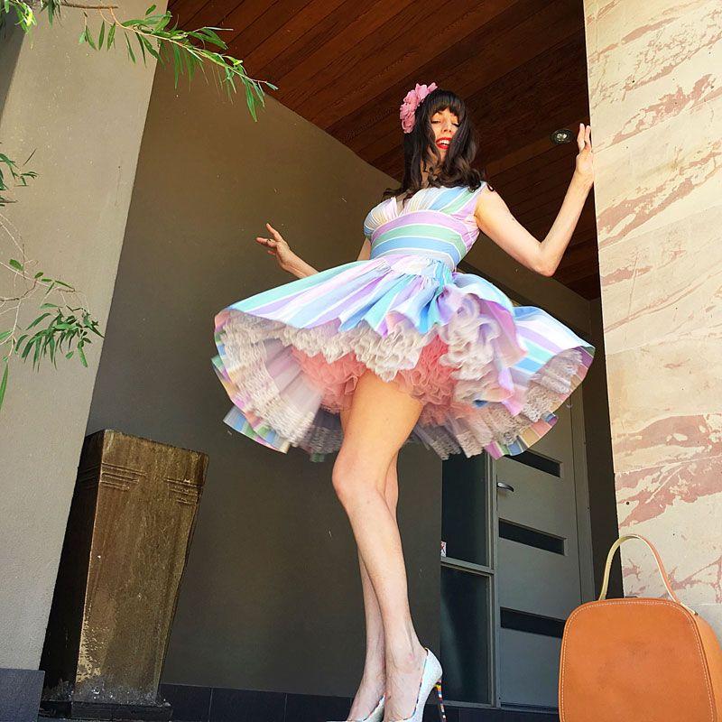 Brazilian nudes woman in petticoats being ravished