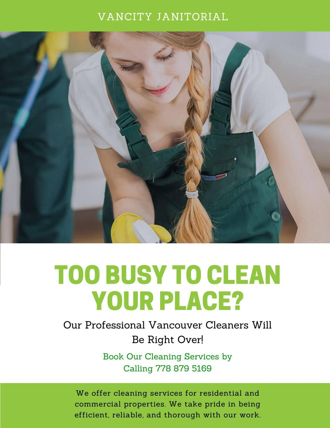 Vancouver Cleaning Services Vancity Janitorial Call Us