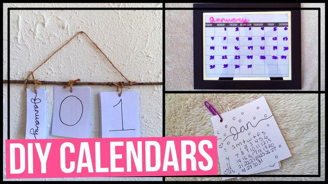 Diy Calendars  Diy Perpetual Calendar Diy Frame Calendar  A