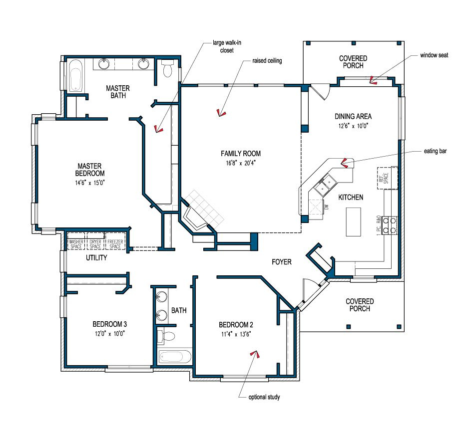 Love This Layout Floor Plans Modular Home Plans House Floor Plans