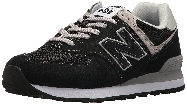 27faf57fb7848 Amazon.com   New Balance Women's Iconic 574 Sneaker, Black, 8 B US ...
