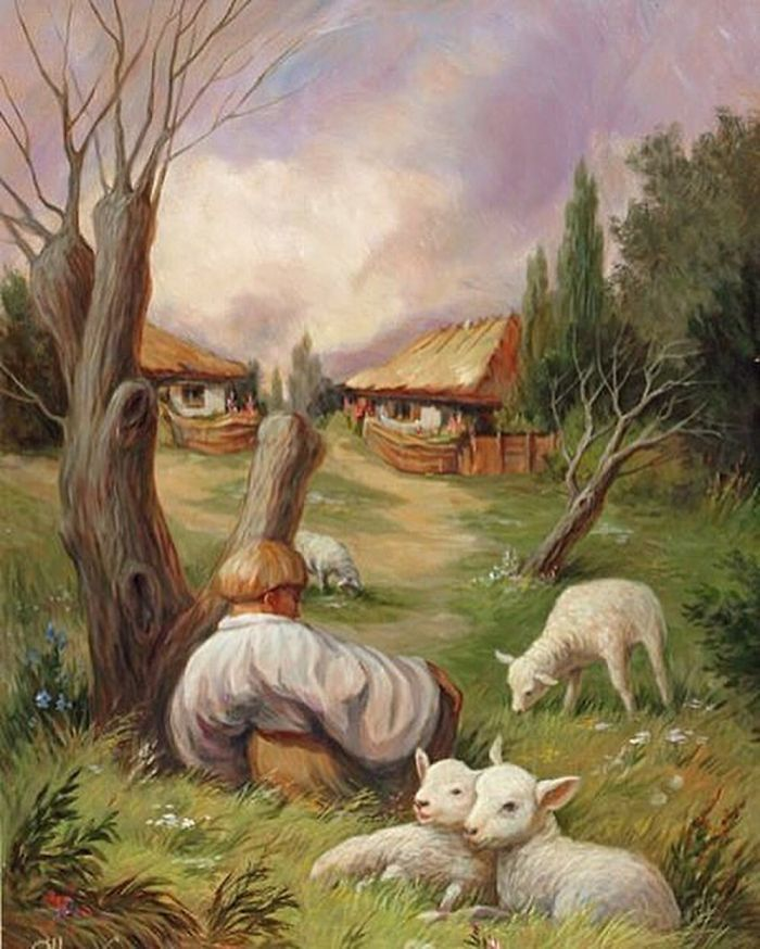 35 Mind-Twisting Optical Illusion Paintings By Ole