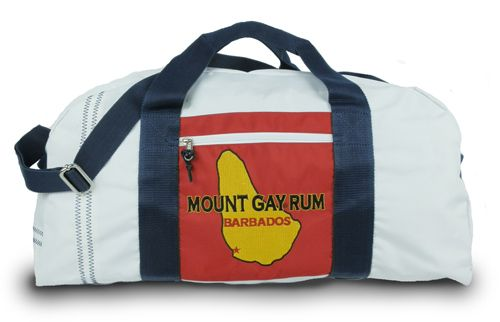 SailorBags is auctioning off this one of a kind Mount Gay Rum Duffel by SailorBags and donating the money raised to the US Olympic Sailing Team!