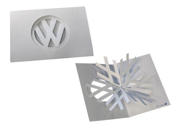 Volkswagens snowflake holiday card cards pinterest craft and volkswagens snowflake holiday card colourmoves
