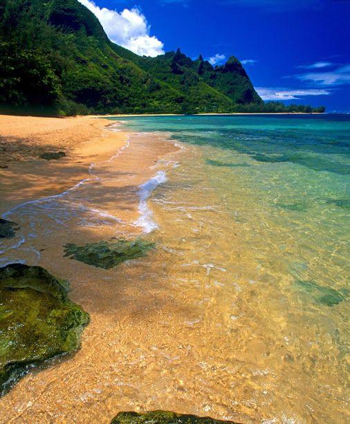 Kauai Beach: Tunnels Beach, Kauai Hawaii Tunnels Beach Is The Ultimate