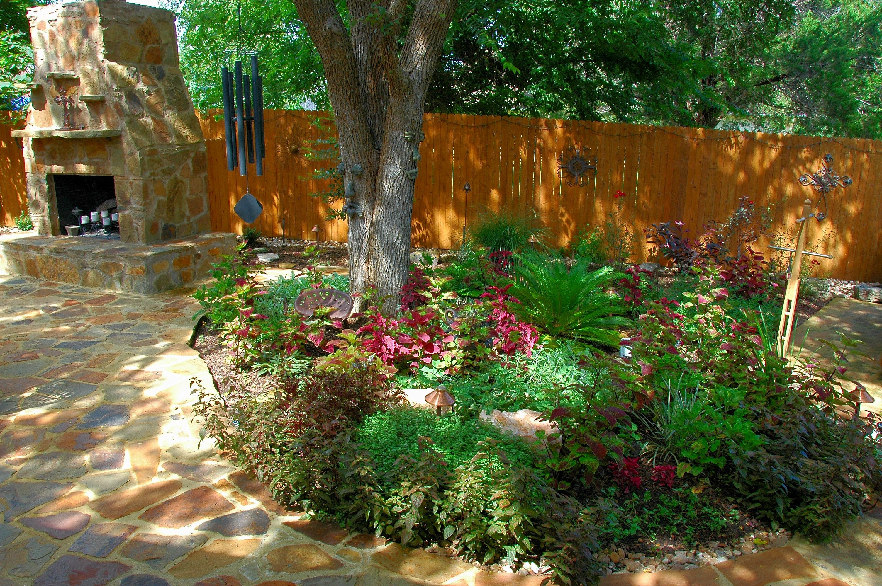 shady garden designs   recent austin projects shady hollow project ...