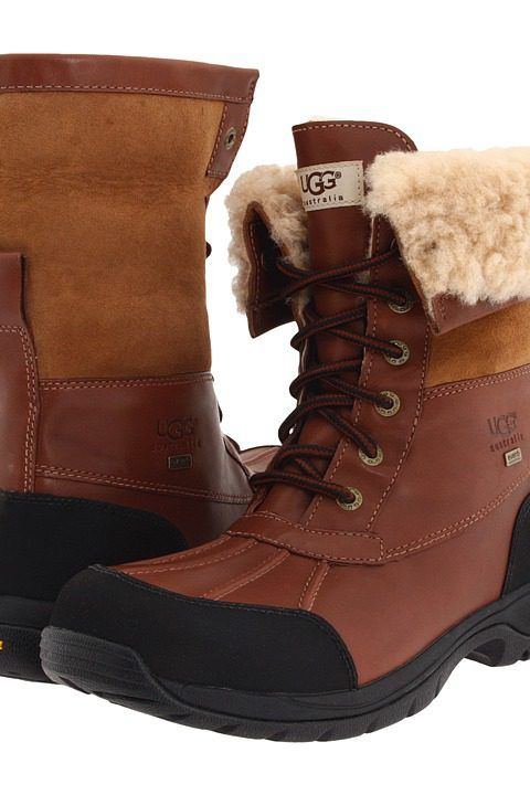 UGG® Australia - Butte Cold Weather Boot: This boot is going to get you  through it all. The leather outer is waterproof. It is lined with a  waterproof, ...