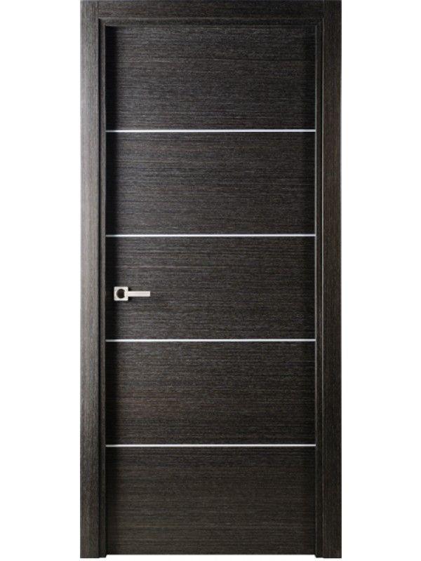 Interior Single Door Modern Interior Single Door Italian Black Apricot  Decorative Strips By Valdo