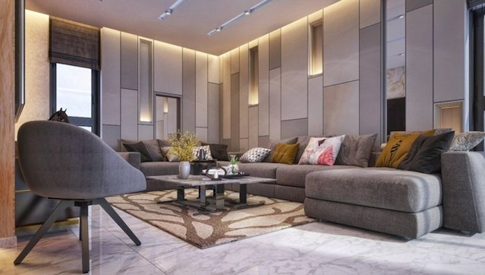 ▷ 1001 + ideen für moderne Wohnzimmer im 2018 Wohnzimmer Design - wohnzimmer ideen grau