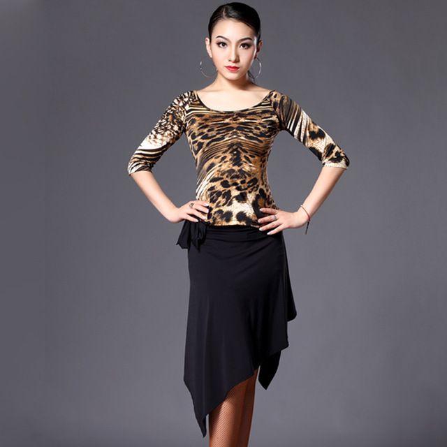 46041e85ec 2016 New Arrival Latin Dance Dress Women Top&Skirt Cha Cha/Tango ...