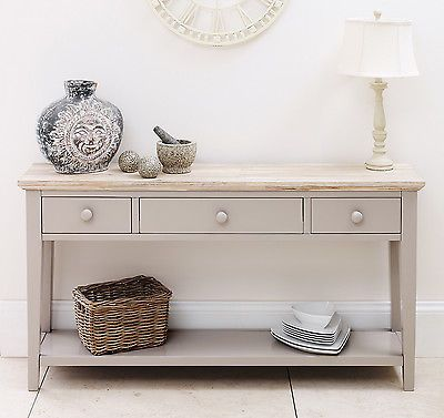 hall console table white. FLORENCE Console Table, Stunning Kitchen Hallway Table In Truffle Colour Hall White O