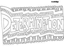Character Trait Coloring Sheets For The Beginning Of Year