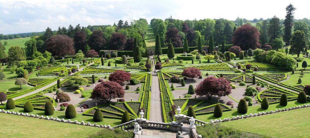 Drummond Gardens Crieff Perth Scotland Most Beautiful Gardens Famous Gardens Beautiful Gardens