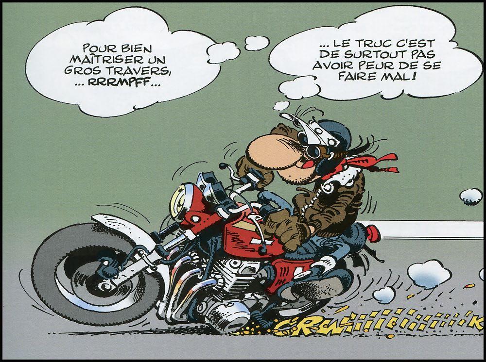 Travers de porc illustration motos pinterest dessin - Dessin motard humoristique ...