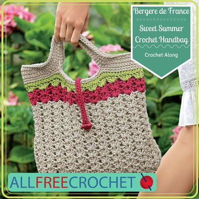 Crochet Along Sweet Summer Crochet Handbag Crochet Crocheted
