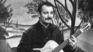 George brassens un célèbre guitariste des années 60 et chanteur