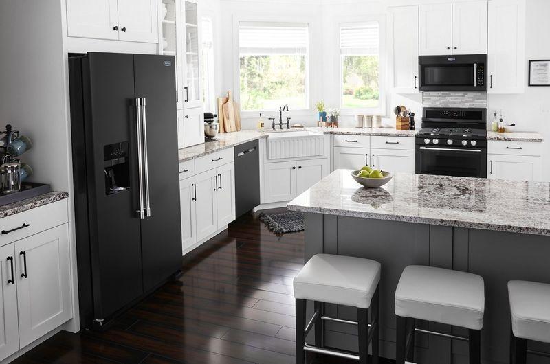 black kitchen appliance the new cast iron black kitchen applia in 2020 black appliances on kitchen appliances id=45621