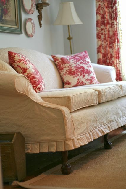 Vintage Quilt Couch Slipcovers