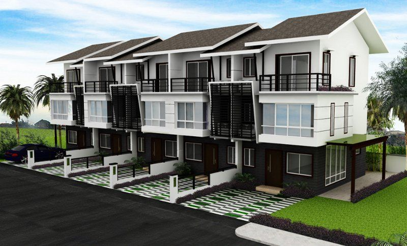 Modern Town Modern Residential Model Homes Designs. Gallery