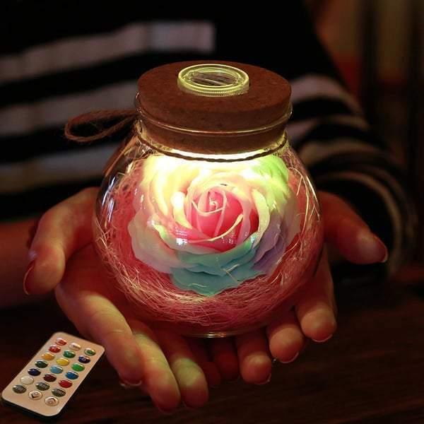 Rose Light Bottle #inspireuplift explore Pinterest
