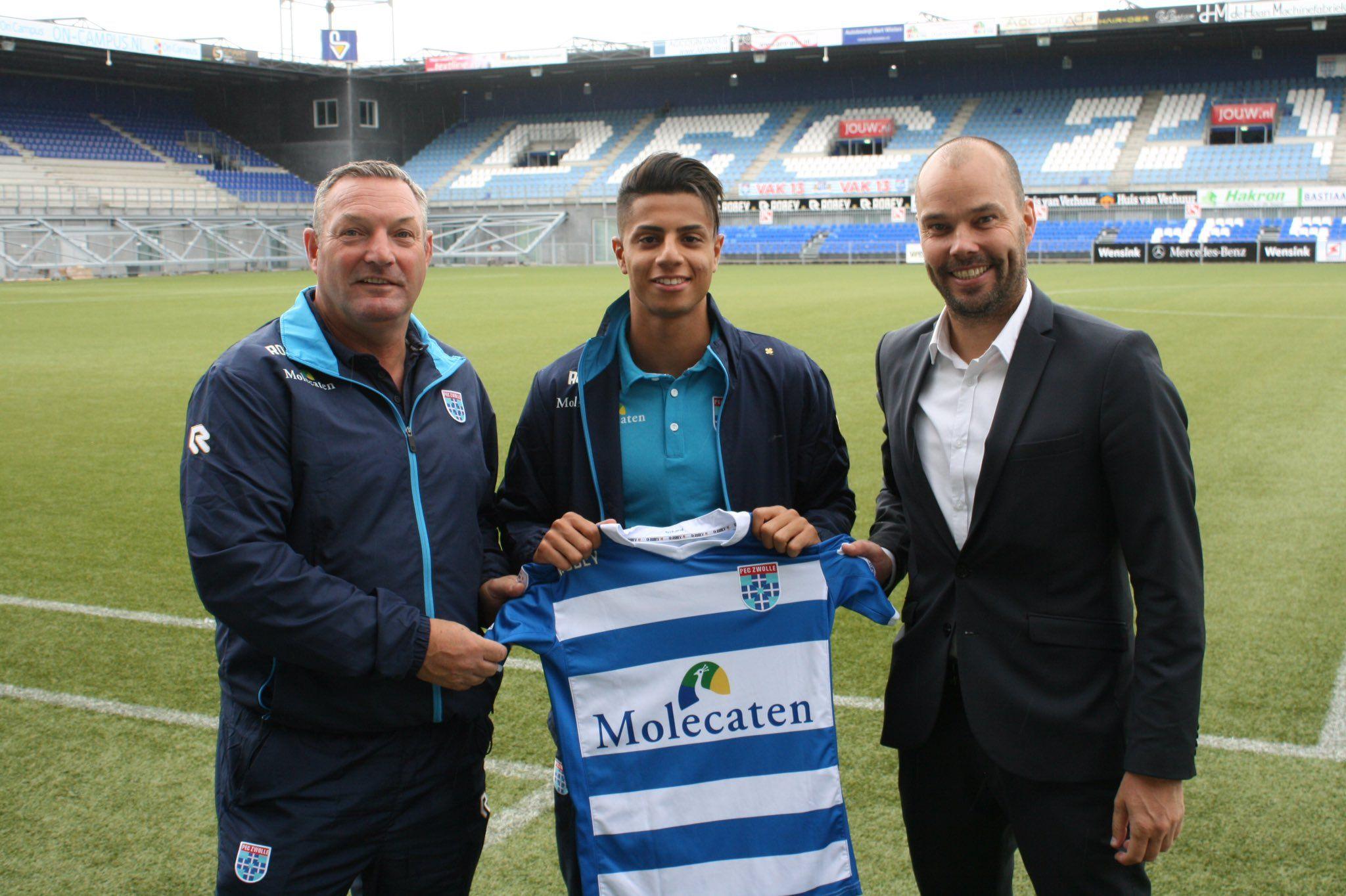 Pec Zwolle Sign Hachim Mastour On Loan R Soccer Zwolle Loan Soccer