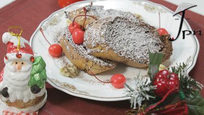 Rabanadas de chocolate de forno - Receita da chef Cinta do canal Made in Japan