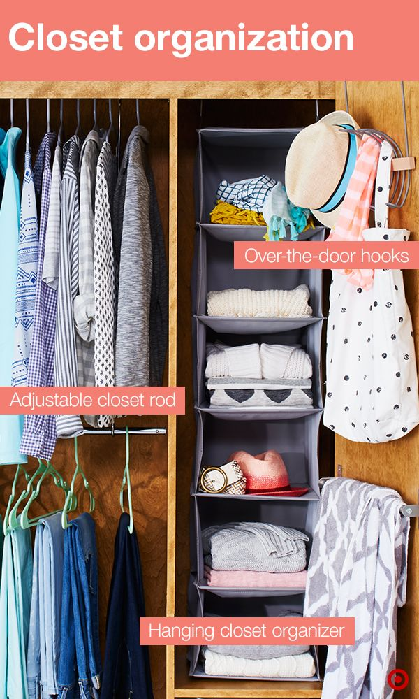 Get The Most Out Of Your Dorm Room Closet With A Few Tried