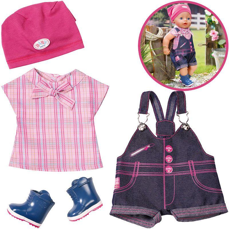 Zapf Creation Baby Born Pony Farm Deluxe Outfit In Spielzeug Puppen Zubehor Babypuppen Zubehor Ebay Puppenkleidung Puppen Zubehor Disney Babys
