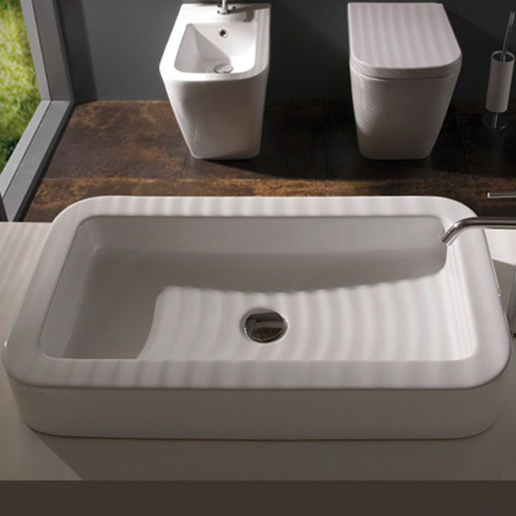 Globo Waschbecken zeige details für globo aufsatzwaschbecken 72x39 cm bad