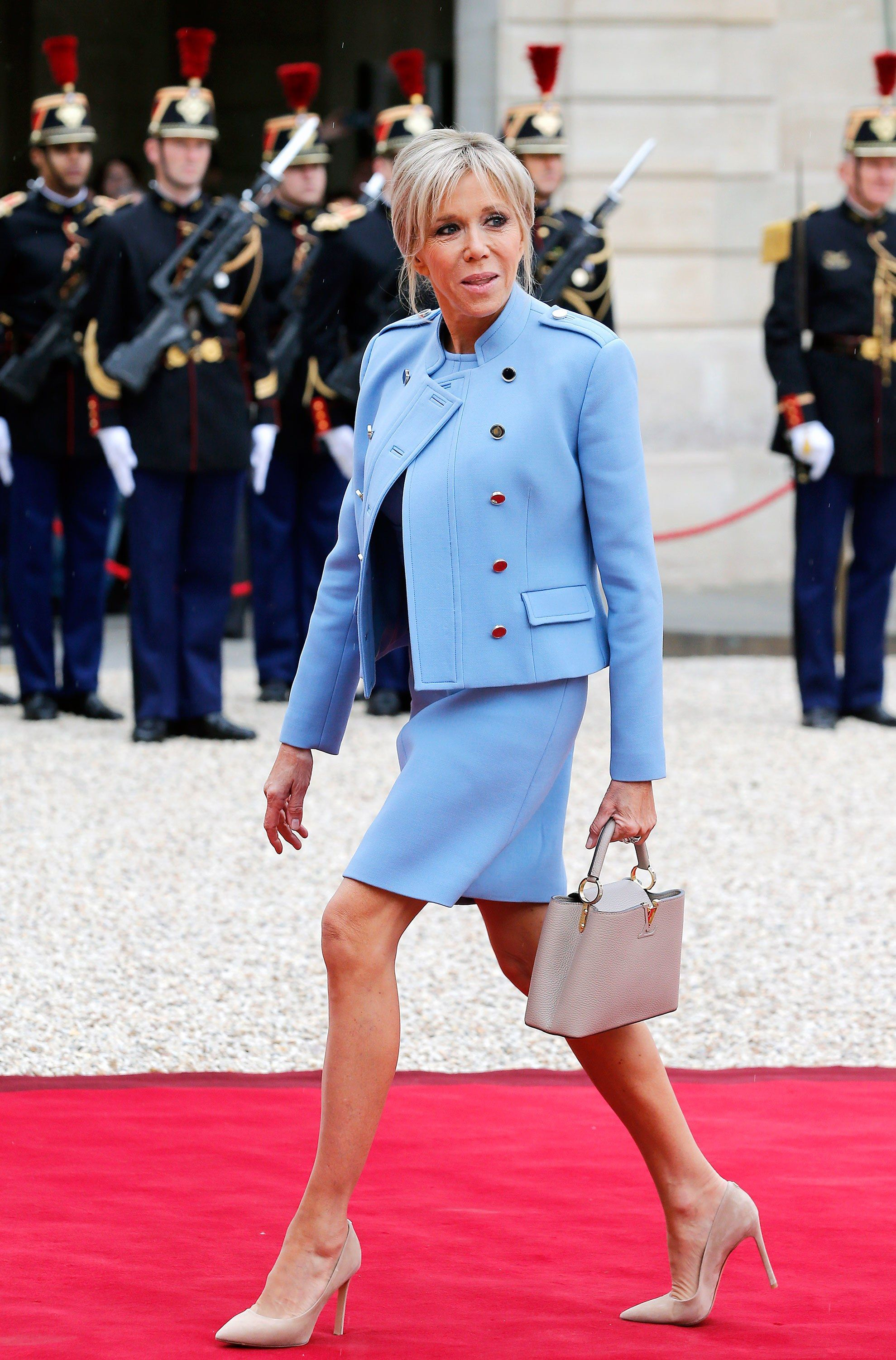 Brigitte Macron's Jaw-Dropping Legs Prove That, in France