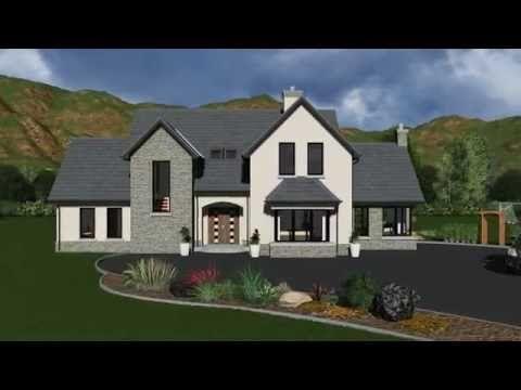 Irish House Plans Dorm149 Youtube Two Story House Design House Designs Ireland Modern Brick House