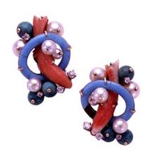 Super charming Seaman Schepps earings