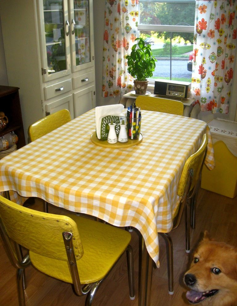 My Grandpas Had The Yellow Table And Chair Wish I Them Now