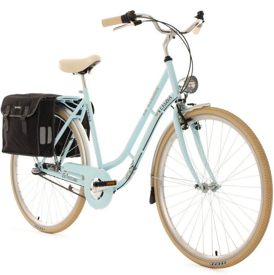 Ks Cycling Cityrad Verona 3 Gang Shimano Nexus Schaltwerk Nabenschaltung Online Kaufen Fahrrad Laufrad Fahrradtasche