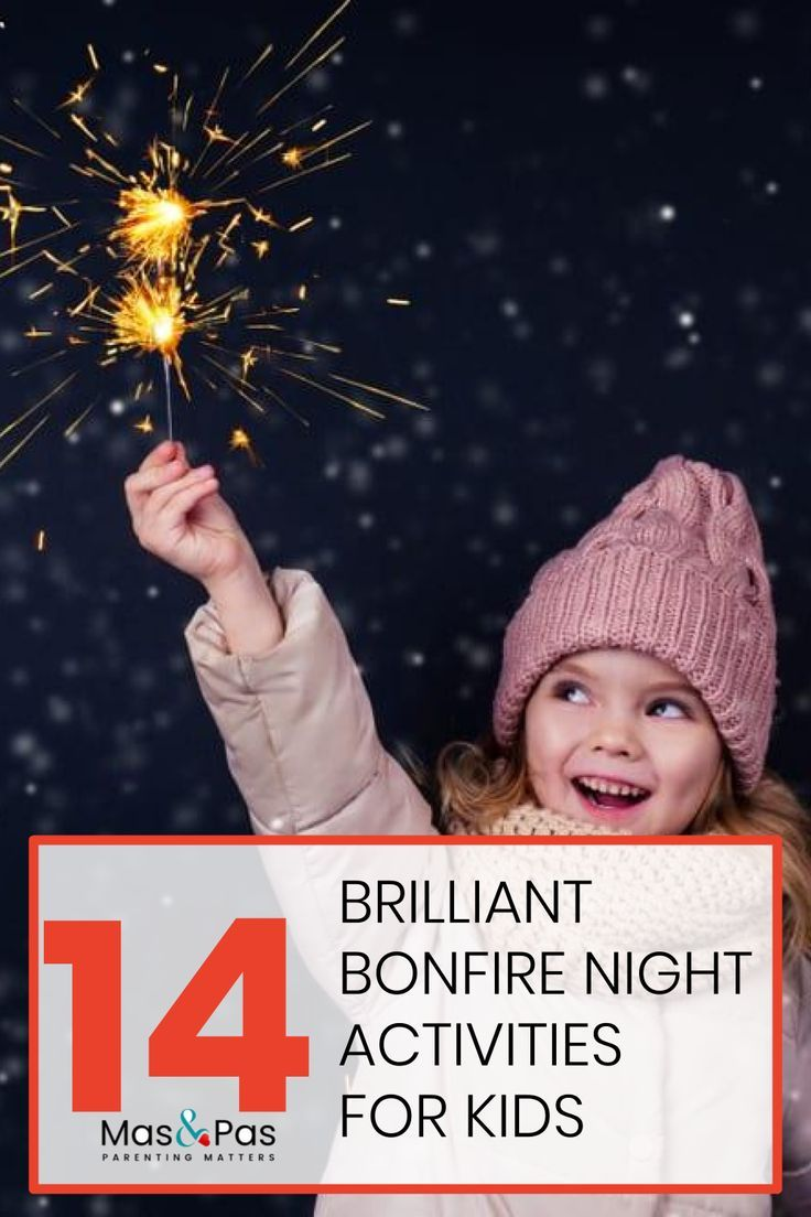 14 brilliant Bonfire night activities for kids