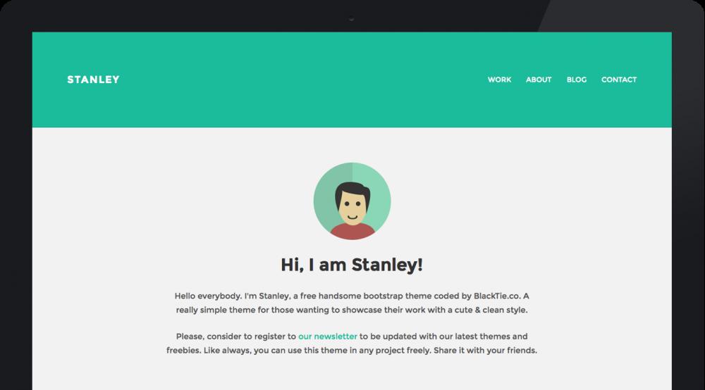 Stanleywp Twitter Bootstrap Wordpress Theme Fribly Best Free Wordpress Themes Free Wordpress Themes Free Wordpress