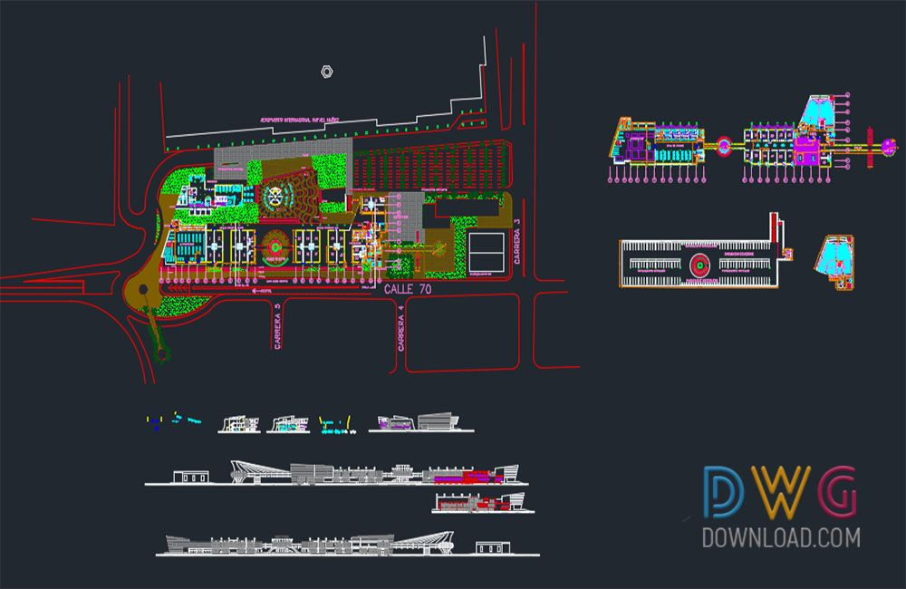 International Airport Details Dwg. Is a detailed AutoCAD dwg project for the international airport.  sc 1 st  Pinterest & International Airport Details Dwg. Is a detailed AutoCAD dwg ...