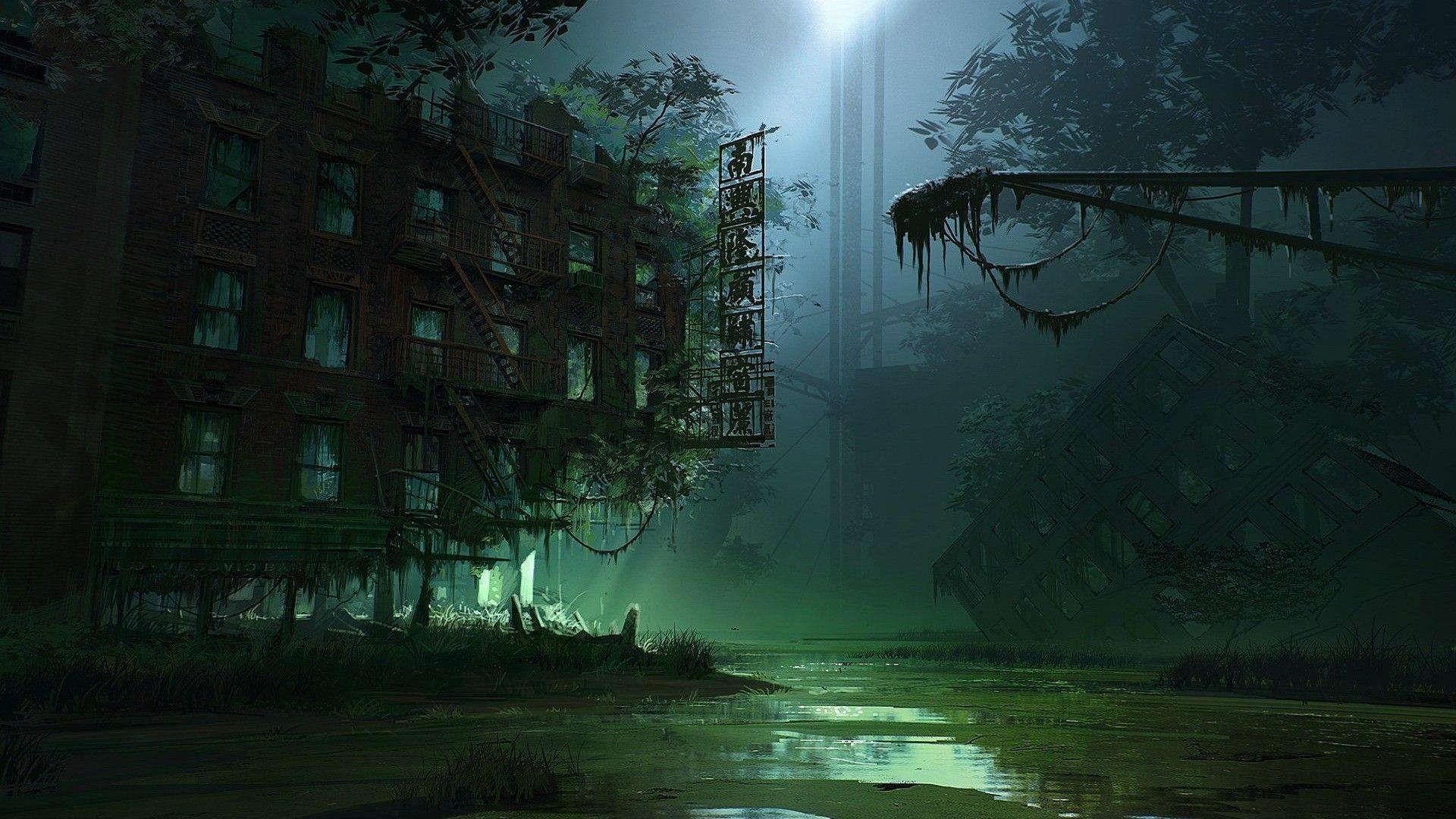 Sci Fi - Post Apocalyptic  Wallpaper