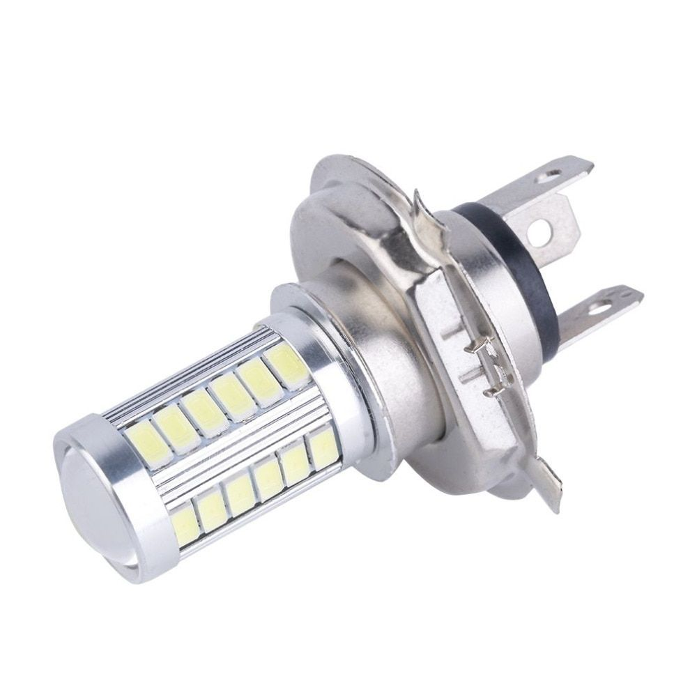 Best H4 33smd 5630 Led Bulb Car Light Headlamp 33 Leds 12v 800lm Drl Daytime Traffic Lights Car Driving Fog Lights Feux De Voiture Voiture Deco Voiture