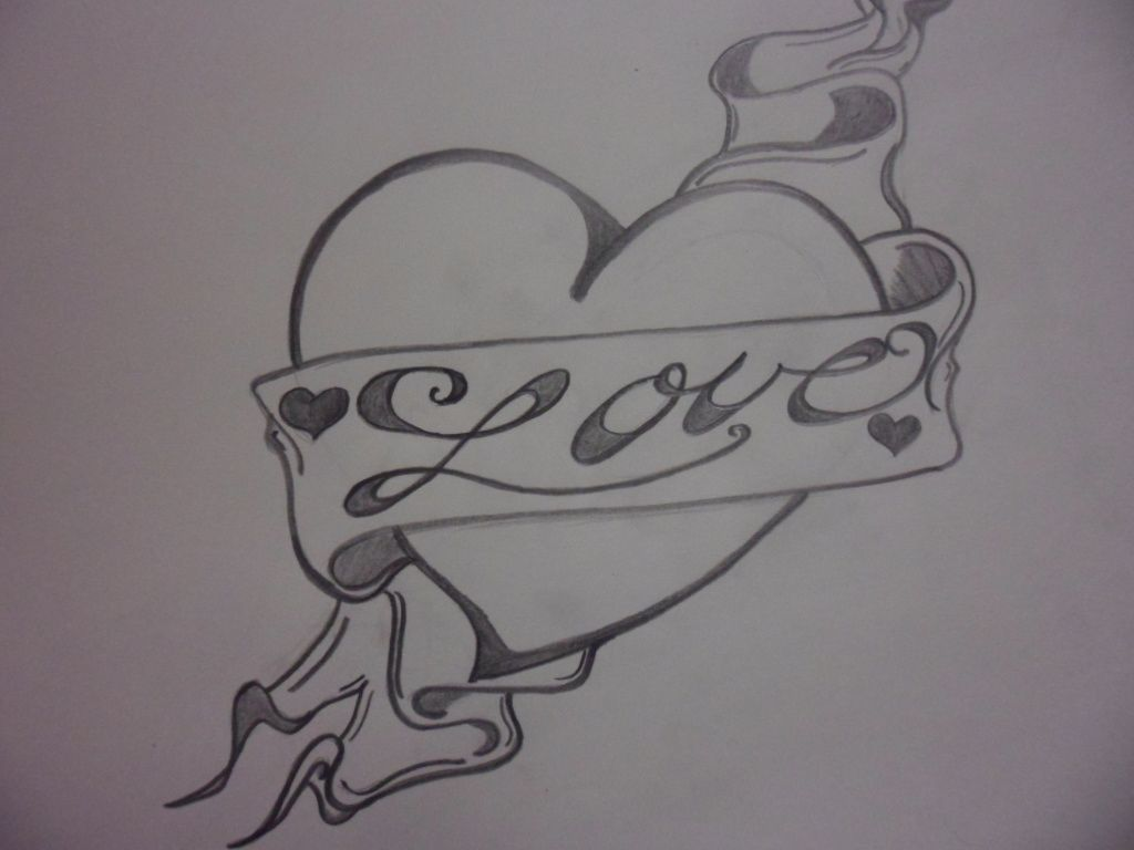 Love heart drawings love heart drawing in 2019 love
