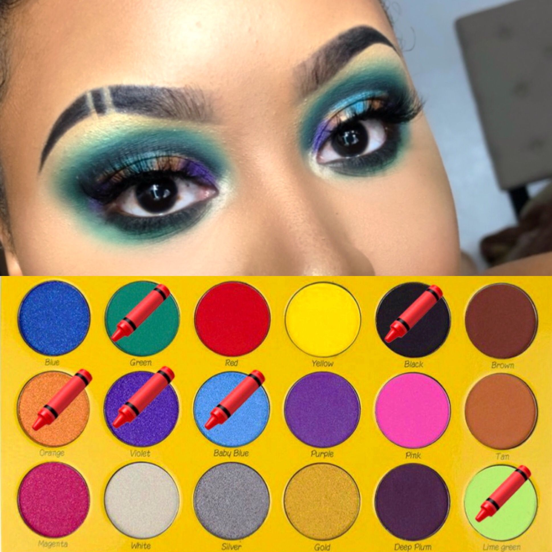 "The Crayon Case ""Box of Crayons"" palette IG"