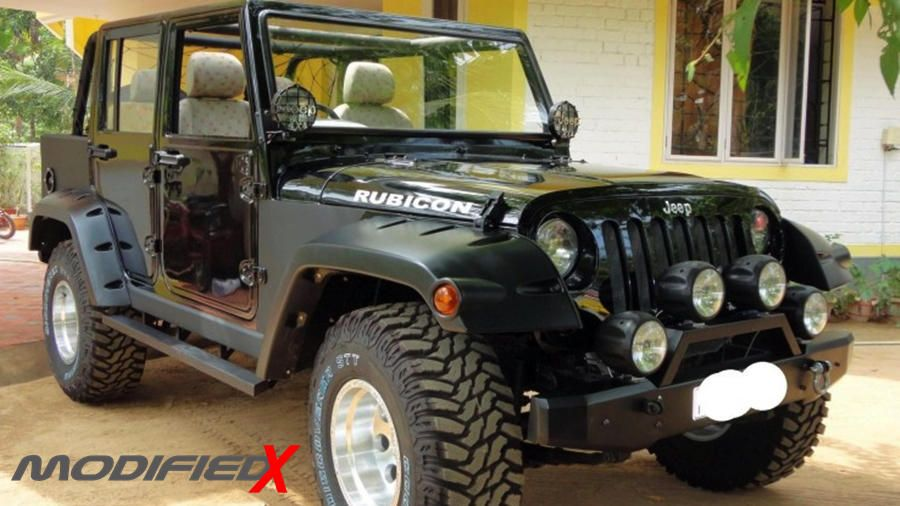 Mahindra Armada To Jeep Wrangler Conversion Modifiedx Mahindra
